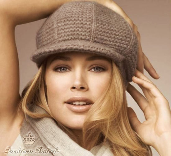 knitted berret