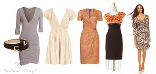 dresses for pear-shaped figure