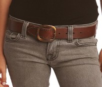 What type of belt is best for jeans