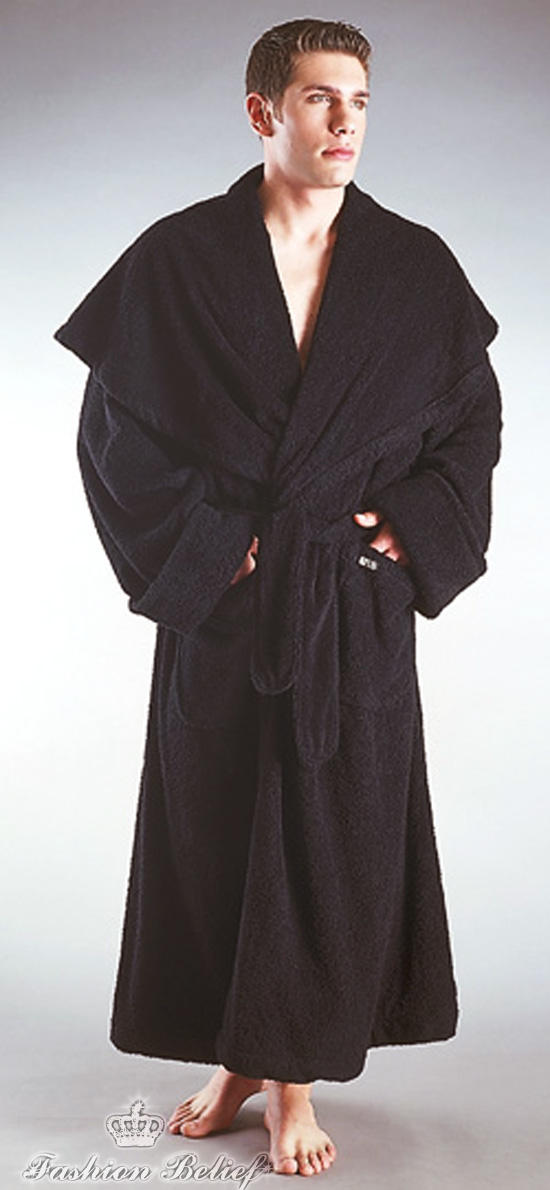 How to choose men's bathrobes
