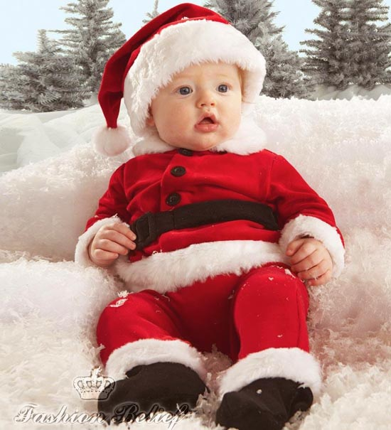 Christmas Baby Fashion Belief