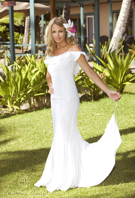 Caribbean Wedding Dress