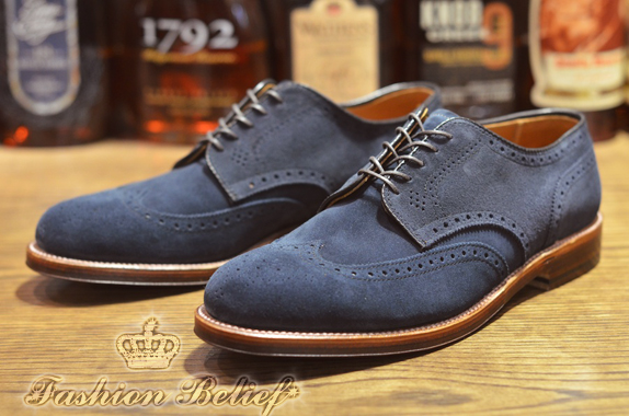 Church Shoes Blue Navy