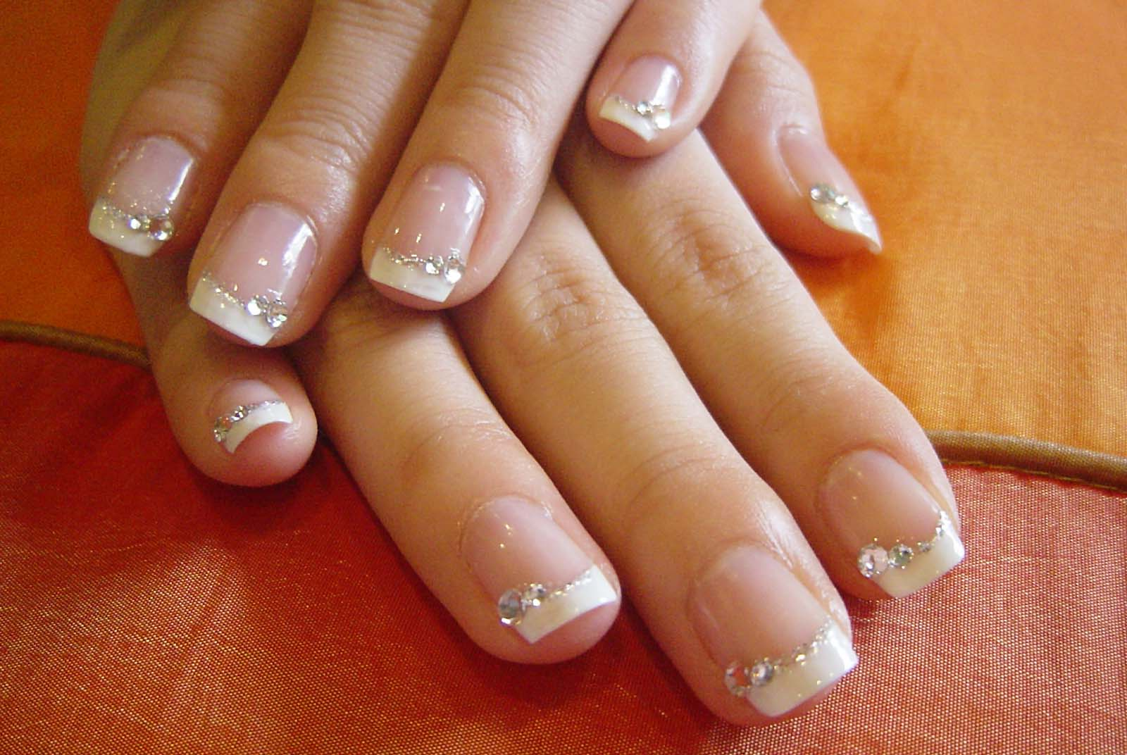 French Manicure Fashion Belief