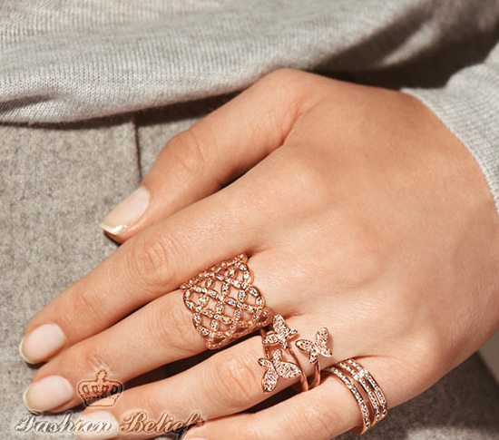Rose gold jewelry for women Fashion Belief