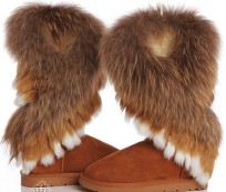 Ideas how to wear fur boots