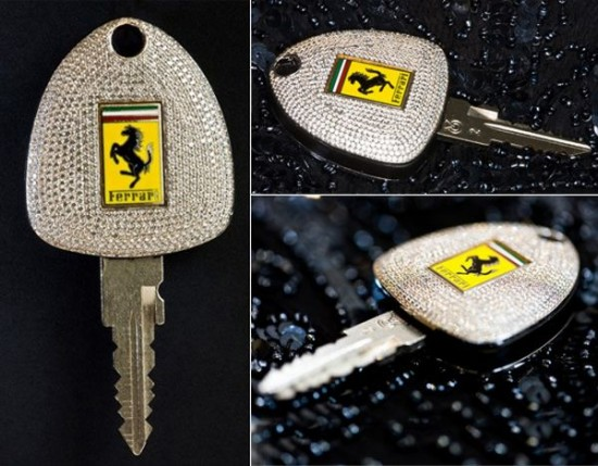Ferrari car key