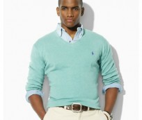 Men's V neck sweaters