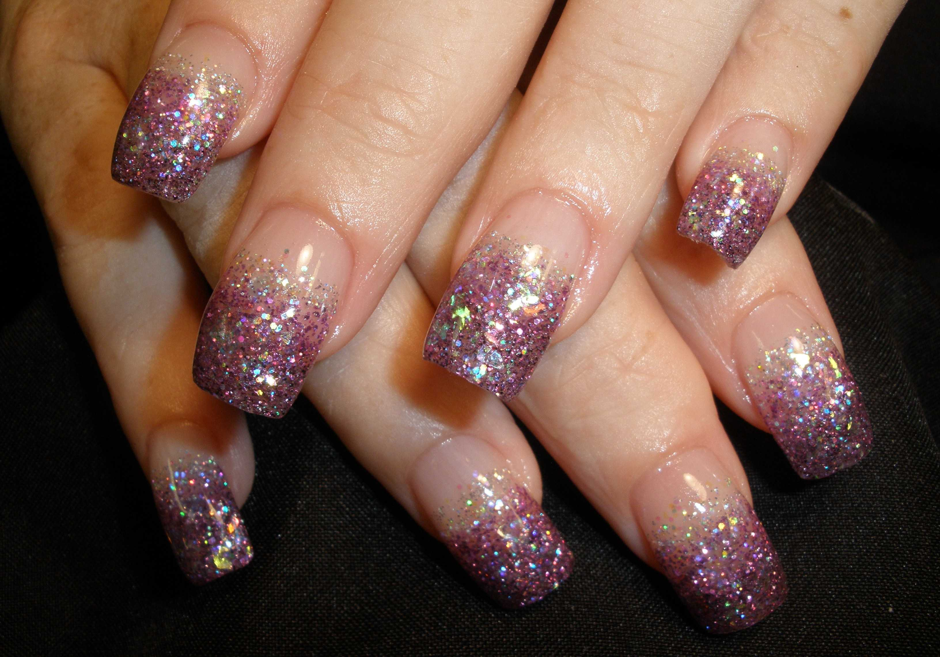 Glitter Nail Polishes With