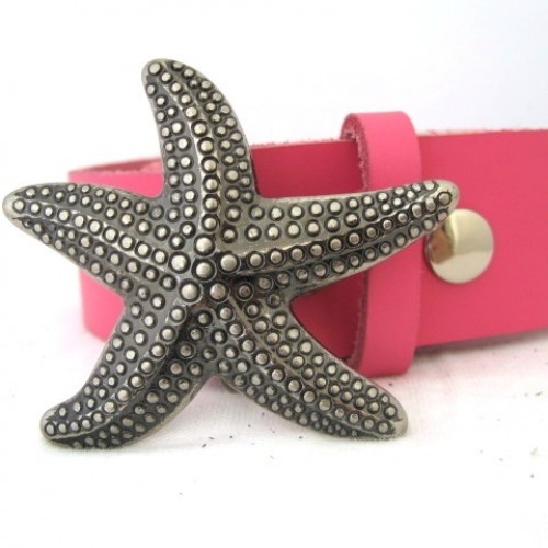 starfish belt buckle