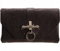 Black clutch handbag from Givenchy