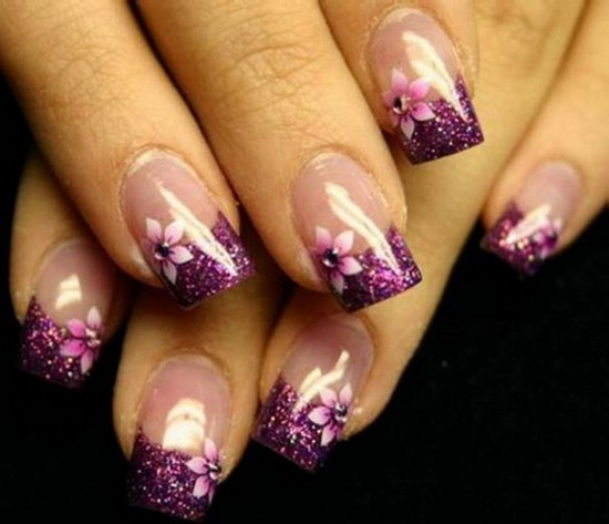 There are many more nail art designs, suitable for your spring outfits