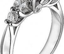 Engagement ring designs with more than three diamonds